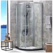 JOMOO 九牧 M3E11 一体式扇形淋浴房