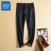 Jeanswest 真维斯 JY-02-181010 男士直筒牛仔裤65元包邮(需用券)