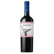 MONTES 蒙特斯 经典梅洛红葡萄酒 14度 750ml *2件116.8元(合58.4元/件)
