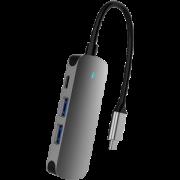 WJOY Type-C 四合一扩展坞拓展坞(HDMI、USB3.0、手机OTG、Type-C接口)49元包邮(需30元券)