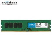 crucial 英睿达 DDR4 2400MHz 8GB 台式机内存(CT8G4DFS824A)