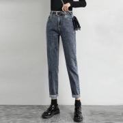 Lee Cooper 女士 直筒显瘦 老爹萝卜裤 牛仔裤