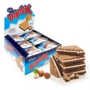 Triplex 脆博乐 牛奶巧克力榛子威化饼干 480g *2件54.85元(合27.43元/件)