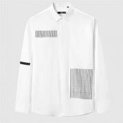 HLA 海澜之家 HNEAJ3N206A 男士条纹长袖衬衫
