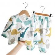 CLASSIC TEDDY 精典泰迪 儿童 纯棉纱布 睡衣套装*2件