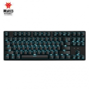 Hyeku 黑峡谷 GK707 机械键盘 87键 蓝色背光