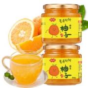 PLUS会员:琼皇 蜂蜜柚子茶 500g*3瓶