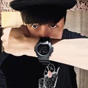 林俊杰同款 CASIO 卡西欧 G-SHOCK系列 DW-6900MS-1HDR 男士运动腕表