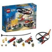 LEGO 乐高 城市组 60248 消防直升机高空救援158.3元