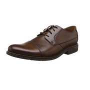 Clarks 其乐 26123138 Becken Cap 男士系带皮鞋 42码