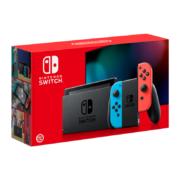Nintendo 任天堂 Switch 续航增强版 游戏机 红蓝手柄 日版