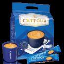 Catfour咖啡 蓝山风味 三合一速溶 40条9.9元包邮(需用券)