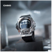 1日0点: CASIO 卡西欧 G-SHOCK系列 GM-6900-1PR 男士手表