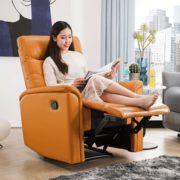 ZUOYOU 左右家私 DZY5033 真皮功能沙发单椅 手动款