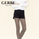 Gerbe 格伯 100%法国原装进口连裤袜 秋冬珠光色女士丝袜 GCELN