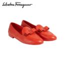 Salvatore Ferragamo 菲拉格慕 女士VARA羊皮革莫卡辛鞋