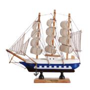 BOMAROLAN 堡玛罗兰 木质帆船摆件 20*4.5*20cm8.8元包邮(需用券)
