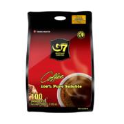 88VIP:G7 越南中原 美式纯黑咖啡粉 100杯28.21元包邮(多重优惠)