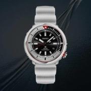 SEIKO精工 手表太阳能潜水表光能