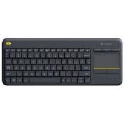 Logitech 罗技 K400 Plus 无线触控键盘 黑色 带无线2.4G接收器