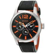 BOSS Orange 雨果博斯 1513228 PARIS 男士石英黑色手表