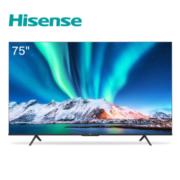 历史新低:Hisense 海信 75E3F 75英寸 4K液晶电视