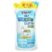 pigeon 贝亲 MA28 奶瓶清洗剂 600ml 补充装 *7件