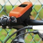 RK 1001101 自行车前照灯 配电喇叭 电池款