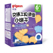 Pigeon 贝亲 交通工具造型小饼干 蓝莓味 40g *4件
