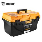 DEKO 21寸加厚双层工具箱工具盒五金收纳箱 *2件