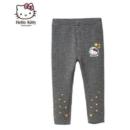 Hello Kitty 凯蒂猫 女童针织加绒打底裤子39元包邮