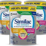 Similac 雅培 Pro-Advance 婴儿配方奶粉 3罐装 到手¥671.56
