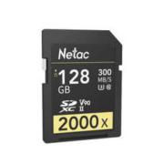 Netac 朗科 P600 2000x UHS-II SD存储卡 128GB U3 V90