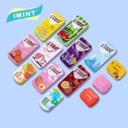 IMINT网红无糖薄荷糖6盒香体糖