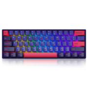 21日0点、双11预售: akko 艾酷 3061RGB 霓虹 蓝牙双模机械键盘 佳达隆轴