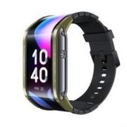 双11预售: nubia 努比亚 Nubia Watch 柔性屏智能手表 战甲绿