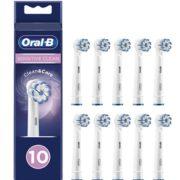 prime会员!Oral-B 欧乐B Sensitive Clean 超细软毛电动牙刷刷头 10支 EB60  直邮含税到手¥235.25