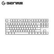GANSS 高斯 GS87C 无光版 机械键盘(Cherry轴、PBT)