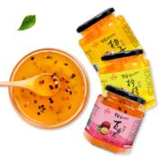 吾茶 蜂蜜柚子茶 百香果茶 500g罐装
