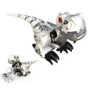 Silverlit 银辉 电子宠物玩具 SLVC884840CD00101 我的宠物恐龙 银白色*2件