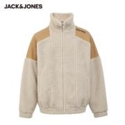 JackJones 杰克琼斯 220309004 男士仿羊羔绒棉服夹克