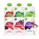 LittleFreddie 小皮 6口味缤纷维C果蔬泥100g*6袋 欧洲原装进口婴儿辅食宝宝西梅泥