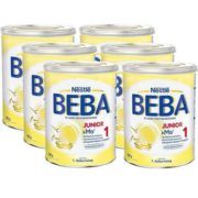 Nestlé 雀巢 BEBA贝巴 Junior 1段婴幼儿奶粉800g×6罐装 到手约¥542.22