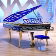 Bluthner 博兰斯勒 Crystal HIVE/190cm 德国原装进口高端定制水晶钢琴