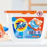 Tide 汰渍 深层洁净洗衣凝珠 21颗*2盒