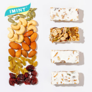 IMINT 奶盖坚果棒 能量棒 120g*4件 共24小包29.9元包邮