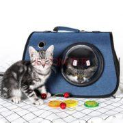 透气不憋闷!DOPOLO 德普乐 猫包 藏蓝色 19.9元包邮(需用券)