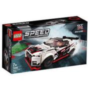 LEGO乐高 赛车系列 76896日产GT-R Nismo(Nissan GT-R Nismo)298粒 7岁+ *4件