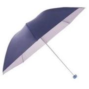 Paradise 天堂伞 三折纯色晴雨伞