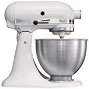 KitchenAid 凯膳怡 5K45SSEWH 多功能全自动厨师机4.3L   含税到手约¥2597